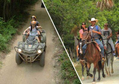 ATV Adventure + Horses