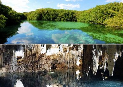 Two Cenotes