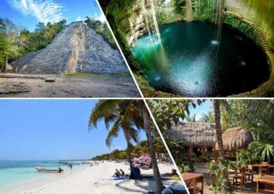 Coba – Cenote – Aldea Maya – Akumal