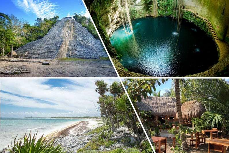 Coba – Cenote – Aldea Maya – Xcacel