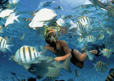 snorkel-puerto-morelos-kid