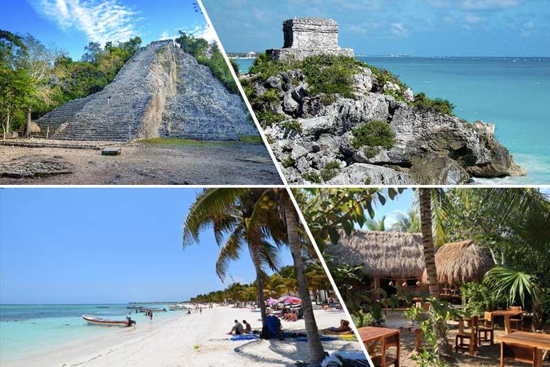 Tulum – Coba – Aldea Maya – Akumal