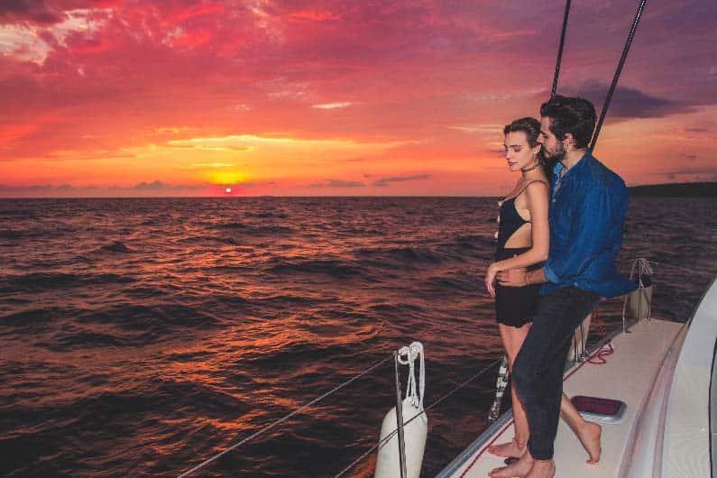 Sunset Luxury Sailing